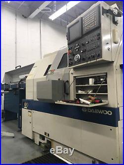 Daewoo 150 G CNC Gang tool CNC Lathe