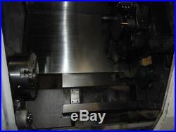 Daewoo 250m Cnc Lathe, Live Tooling, Tailstock 10 Chuck, Chip Conveyor, Video