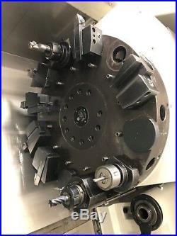 Daewoo Puma 12s-3a Cnc Turn MILL 12 C Axis Live Tool Lathe Haas Mori Okuma