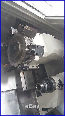 Daewoo Puma 230ms Cnc Sub Spindle Live Tool Turning Center Lathe Doosan Mori