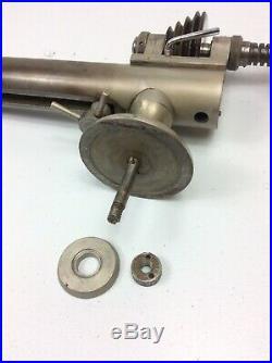 Derbyshire Elect 10 mm Watchmaker Jewelers Lathe Compound Slide Plus Turret