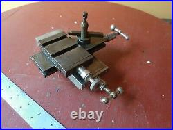 Derbyshire Lathe COMPOUND lathe clockmakers watchmaker with TOOL POST