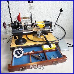 Derbyshire USA Watchmaker's 8 MM Lathe