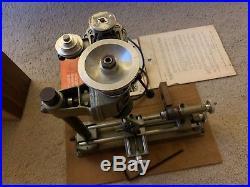 EMCO Unimat SL DB 200 Metal Lathe Mill Original Box Made Austria Tested Modeling