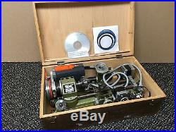 EMCO Unimat SL1000 American Edelstaal Lathe, Mill, Accessories, Stepping motors