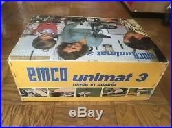 Emco Unimat 3 Mini Lathe withoriginal retail packaging