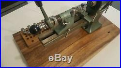 FAVORITE No. 3 WATCHMAKER LATHE 8MM with 33 collets
