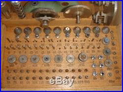 Favorite watchmakers lathe/staking /jeweling set