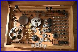 G. Boley F1 High-precision Watchmakers' Lathe / BOX SET