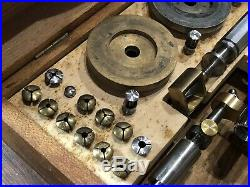 G. Boley Screw Head Polishing Watchmaker Tool Lathe Tour À Polir Les Vis Rare