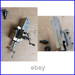 G. Boley Watchmaker Lathe 8 mm Compound Cross Slide Germany Watch Clock Tool