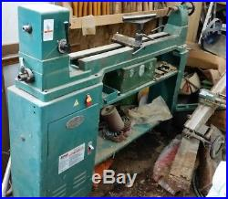 Grizzly, G1495, 17 x 40 Wood Lathe Built in Disk Sander, 3/4hp, With Duplicator