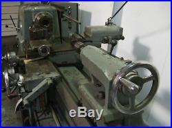 H. ERNAULT SOMUA Precision Engine Lathe Model C 450 18 x 40 Lot of Tooling H. E. S