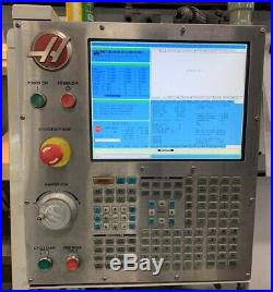 HAAS ST-20 Lathe, 8 Chuck, 2.5 Bar, 4,000 RPM, Tool Setter, Parts Catcher, CC
