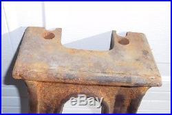 Heavy Antique Vintage Cast Iron Machine Table Legs Industrial Art Lathe