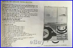 HOLDRIDGE RADII CUTTER NO. 8-D 0- 8 CONCAVE CONVEX DIA Metal Lathe Radius Tool