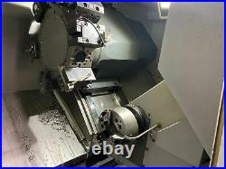 Haas DS-30Y CNC Dual Spindle CNC Lathe, 2017 Live Tooling, Y Axis, Parts Catch