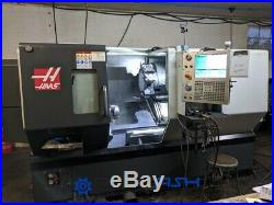 Haas DS-30Y CNC lathe, live tool Y-axis, sub spindle parts catcher and much more