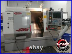 Haas SL-20T CNC Lathe. 1 owner machine with Chip Auger, Tool Presetter and More