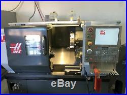 Haas ST-10 CNC Lathe, 2010 Tool probing, Tail Stock, Chip Conveyor