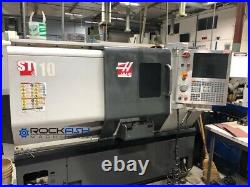 Haas ST-10 CNC Lathe, 3 jaw chuck, Parts Catcher, Tool Presetter and conveyor