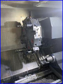 Haas ST-20Y CNC Lathe (2016) with 4 Live Tools, Tailstock, 8 Chuck and More
