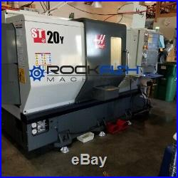 Haas ST-20Y, Live tooling and Y Axis CNC Lathe