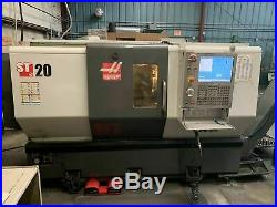 Haas St-20 Cnc Lathe, 2012 Chip Conv, Tailstock, Tool Presetter