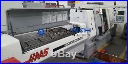 Haas TL-15, live tool machine with Barfeeder