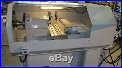 Hardinge Accuslide CNC Gang Tool Lathe Easy to use! Very RIGID, FAST, ACCURATE