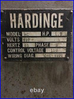 Hardinge HC Toolroom Lathe lots of tooling