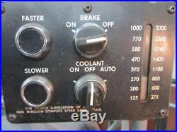 Hardinge Model HLV-H 5Hp 440V 3Ph Belt Driven Tool Room Lathe WithTooling, Coolant