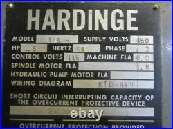 Hardinge Precision Tool Room Lathe 1980 Machine TFB-H Serial HLV-H 8294-T