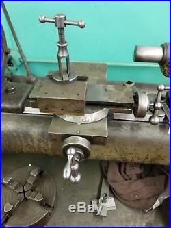 Hardinge Split Bed Cabinet Lathe with Tooling DV59