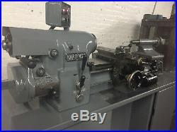 Hardinge Super Precision HLV-H Toolroom Lathe 11 X 18 with Tooling 1982