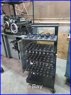 Hardinge chucker lathe With lots of tooling