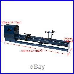 Heavy Duty Industrial Table Electric Multi-use Wood Lathe Spin Machine Tool New