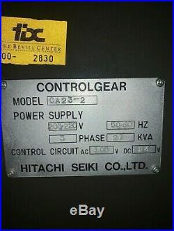 Hitachi Seiki CA23-2 CNC Lathe w live tooling, tool changer, touch setter