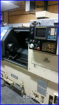 Ikegai Tur-25 CNC Lathe, C Axis Live Tooling, 2.5 Bar, 10'' Chuck