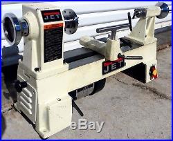 Jet 10 x 14 x 1/2 HP Wood Lathe JML-1014 + Face Plate +