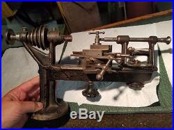 Jewelers watchmakers lathe vintage antique with accessories