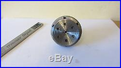 Koch 8mm lathe 6 jaw chuck Ø 55 mm, watchmakers tool Bergeon, Boley, Lorch