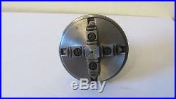 Koch 8mm lathe reversible 4 jaw chuck Ø 55 mm, watchmakers tool Bergeon, Boley