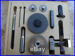 LEVIN Saw Table and Collet Holder with Box for 8MM Watchmaker Lathe