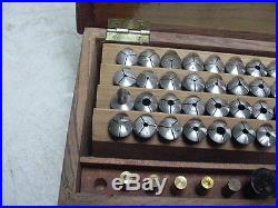 Lathe Collets 8mm (40) Pieces for the Watchmaker A lot of Brands and sizes good