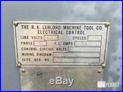 Lathe Le Blond 14 x 30 Tool & Die-maker Edition Aloris Tool holder