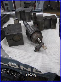 LeBLOND 15x54 MANUAL ENGINE LATHE 8 & 10 Chucks, 7HP-Motor, KDK Tool-Post