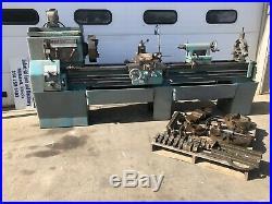 LeBlond Regal 19x80 metal lathe Aloris 3 4 Jaw chcuks well tooled geared head