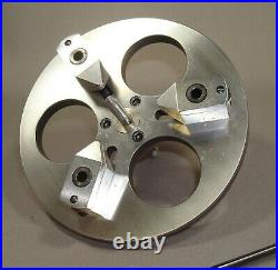 Levin 3 Jaw Face Plate for Watchmakers Lathe, 8mm, NOS