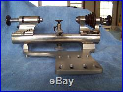 Levin Lathe with collet holding tail stock 8MM